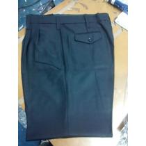 Pantalon Vestir Hombre/dama Uniforme Azul Noche Liquido Lote