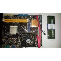 Kit Am2, Placa Mae, Processador E 2gb Ram