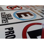 Carteles Prohibido Estacionar, Garaje, Frente Al Porton, Etc
