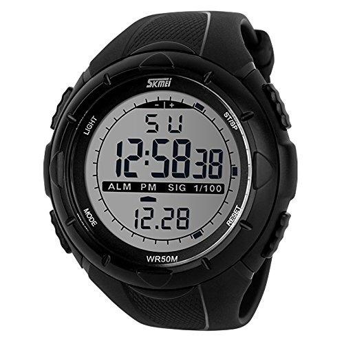 a7334529e36 Promoção Relógio Digital Esportivo Skmei Led Prova D água - R  148 ...