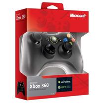 Control Alambrico Xbox 360 Y Pc Original En Caja - Rbgames