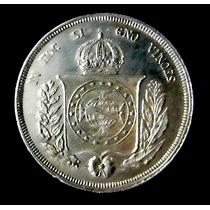 Moneda De Plata. 500 Reis 1853. Imperio De Brasil. Excelente