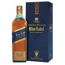 Johnnie Walker Blue Label Whisky 750 Ml - Con Estuche -