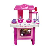 Fogão Barbie (cozinha Divertida Com Acessórios)