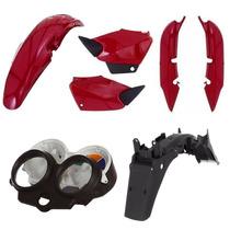 Kit Carenagem + Painel + Paralama Titan 125 2000 2001 E 2004