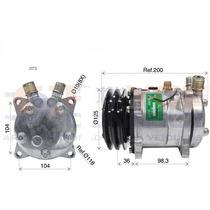 Compressor 5h11 8 Orelhas 12v Mini Case 84321962 Polia 2a