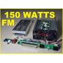 Transmisor Emisora Radio Fm 150 Watts No Es Icom Ni Yaesu