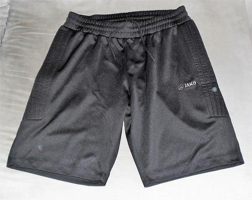 5ad6d5883b0a8 Bermuda Shorts Goleiro Calção Jako Acolchoado G Alemanha - R  199