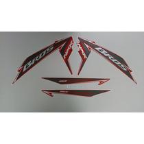 Kit Adesivos Honda Nxr 150 Bros Esd Mix 2011 Vermelha