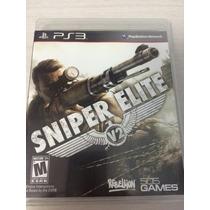 Sniper Elite V2 Para Ps3 Novo E Lacrado Mídia Fisica