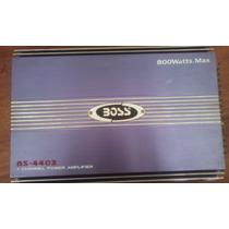 Planta Boss 800 Watts, 4 Canales, Poco Uso