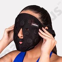 Mascara Con Imanes De Ferrita Y Neodimio Para Magnetoterapia