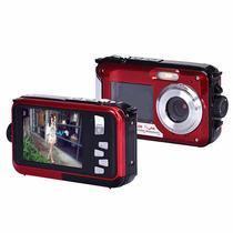 Câmera Filmadora Digital Red 1080p Hd 24 Mp - Prova D