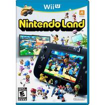Nintendo Land Wii U Mídia Física Lacrado