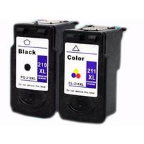 Cartucho Genérico Canon 210xl(negro) Y 211xl(color)