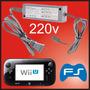 Adaptador Fuente Corriente 220v Wiiu Cargador Control Tablet