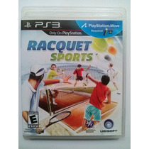 Ps3 Move Raquet Sports $299 Pesos - Seminuevo Vendo / Cambio