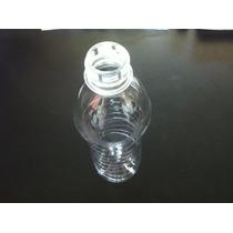 Botella Pet 600ml Con Tapa Sport Grado Alimenticio (135 Pzs)
