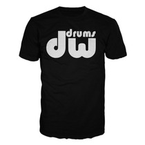 Playera Dw Drums Bateria Acustica Rock Sabian Paiste