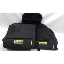 Conjunto Termico Campera Pantalon Cordura + Mask Ridercraft