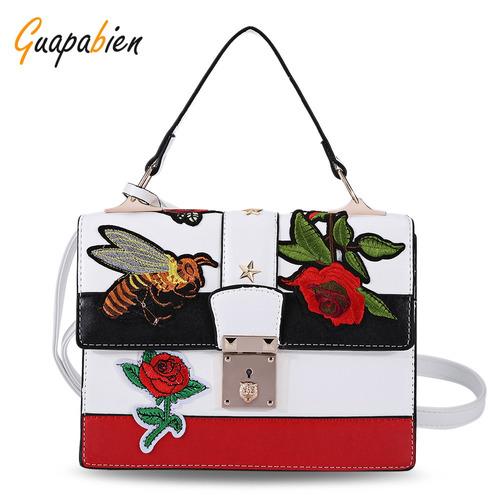 45613e513 Bolso Bandolera Tipo Tote Guapabien Bordado Para Mujer - $ 425.13 en Mercado  Libre