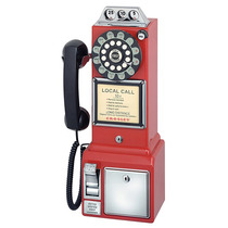 Telefono Crosley Años 50s Retro De Monedas ( Pay Phone )