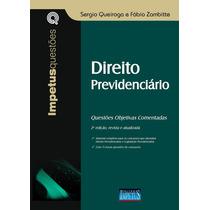 Livro Direito Previdenciário - Questões Objetivas Comentadas