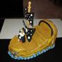 Barco Pirata De Porcelana Fria