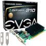 Placa De Video Geforce Evga 210 Pci-e 1gb Ddr3 Vga Hdmi Dvi