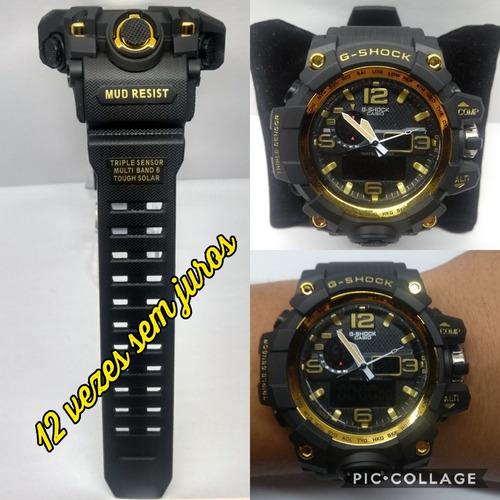 99e0e46c36c Relógio Masculino G-shock Esportivo Lindo Prova D`agua+caixa - R  120