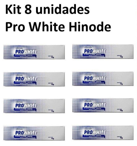 Kit 8 Gel Dental Clareador Prowhite Hinode 100 Original R 79 49