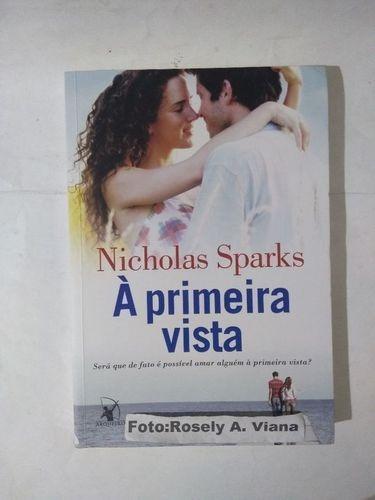 livro a primeira vista nicholas sparks para