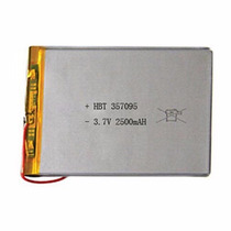 Batería Tablet China 3.7v 2500 Mah