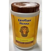 Henna Egyptian Polvo Pote X500g Tonos Tiziano Dorado Rubio