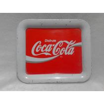 Charola Pequeña Antigua Refrescos Coca Cola Vintage Años 70