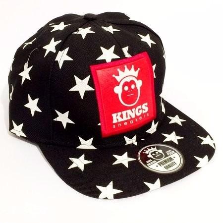 Boné Kingss Aba Reta Snapback Sneakers Stars Caveira Cores - R  34 ... d115ef9e995