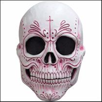Mascara Latex Catrina Adulto Día Muertos Disfraz Halloween