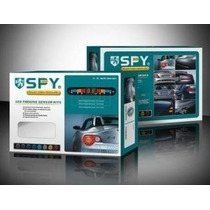 Sensores De Reversa 4 Puntos Con Display Y Auditivo Spy