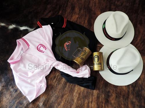 kit combo cavalgada 2 camisas+2 chapéus mangalarga + brindes. Carregando  zoom. aeda586a532