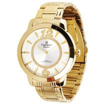 Relógio Champion Feminino Dourado Passion Ch24259h Original