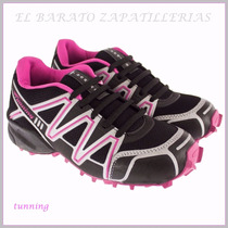 Zapatillas Tunnig Estilo Salomon Dama