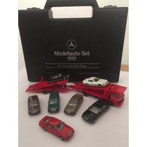 Mercedes-benz Espectacular Maleta De Modelos Museo 1991