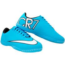 Tenis Futsal- Nike Acc/ Mercurial Cr7 Futsal - Infantil