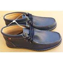 Zapatos Botín Sport Phat Classic Color Azul 100% Originales