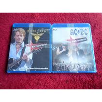 Concierto De 2 Grandes Bandas De Rock Bon Jovi Ac/dc Blueray
