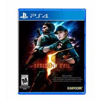 Resident Evil 5 - Playstation 4 (físico) Fgk