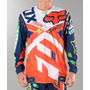 Traje Motocross 360 Divizion Orange Blue