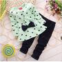 Cojunto De Moda Para Bebe Pantalon Y Blusa 7-9 Meses