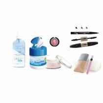 Combo De Maquillaje Natural Shelo Nabel 8 Pzas Envio Gratis