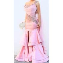 Hermoso Vestido De Gala Ideal Para Quinceañera, Dama